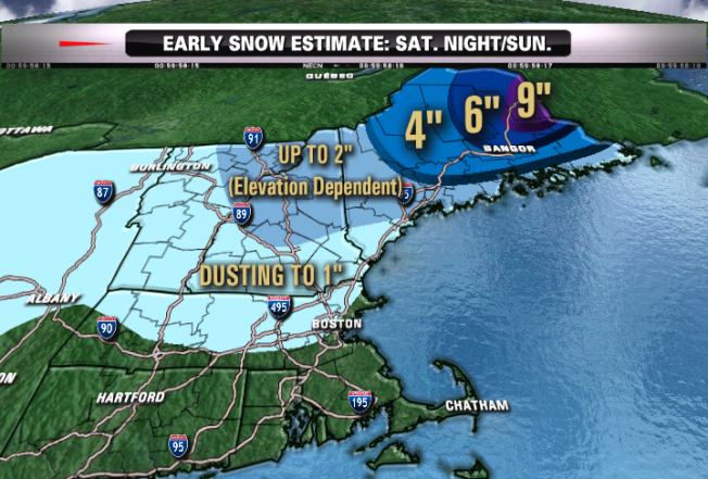 New England Preps For 3rd Nor'easter Since Oct. 1