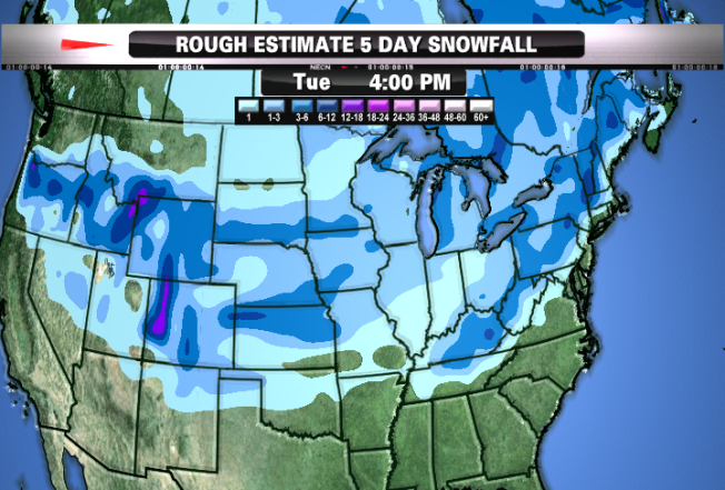 More Snow on the Way Next Week?