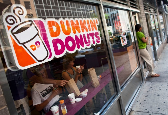 Dunkin' Donuts Revenue Declines