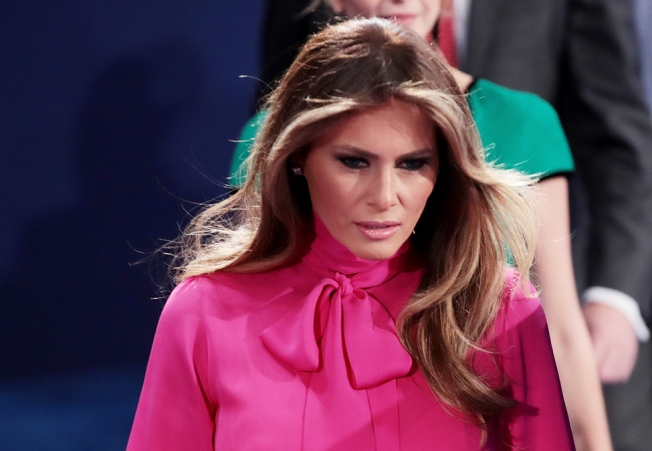 Melania Trump Breaks Silence to Defend Her Husband's 'Boy Talk'