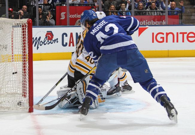 Bruins Fall 3-2 to Maple Leafs to Trail in Series