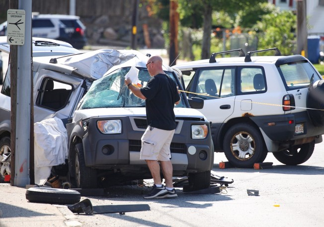 1 Person Dead, 2 Others Hurt in 2-Vehicle Crash in Waltham, Massachusetts: Police