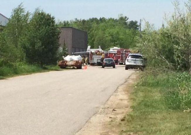 Crews on Scene of Hazardous Material Situation