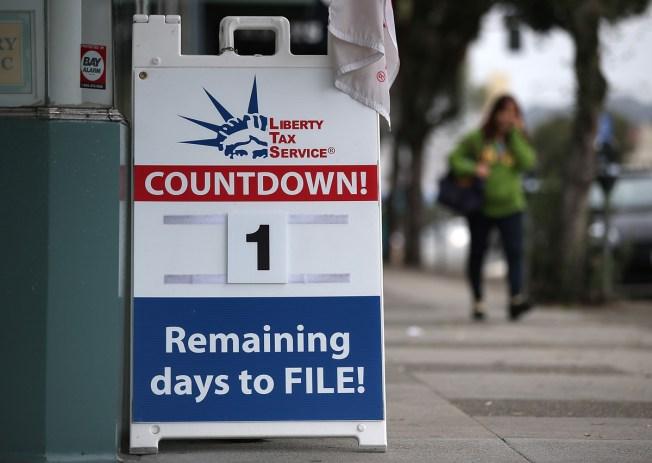 Good News, Procrastinators: Tax Deadline Pushed to Tuesday