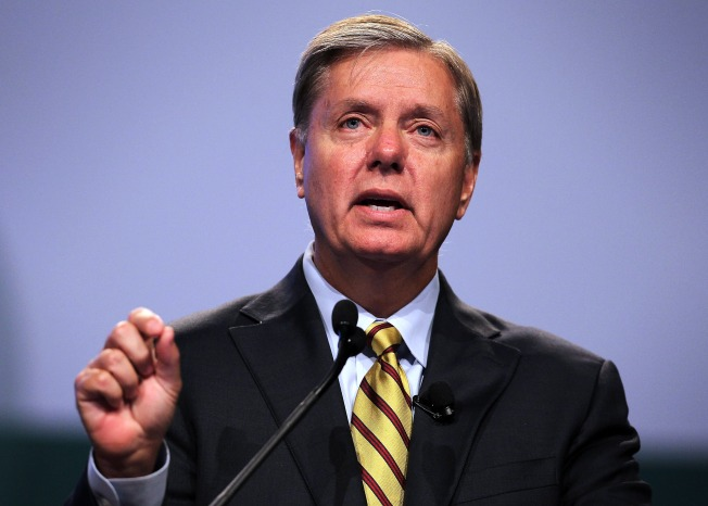 Graham, Pataki Speak in NH