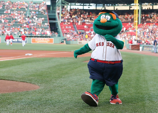 'Wally the Green Monster' Excuses Students From School for Red Sox Home Opener