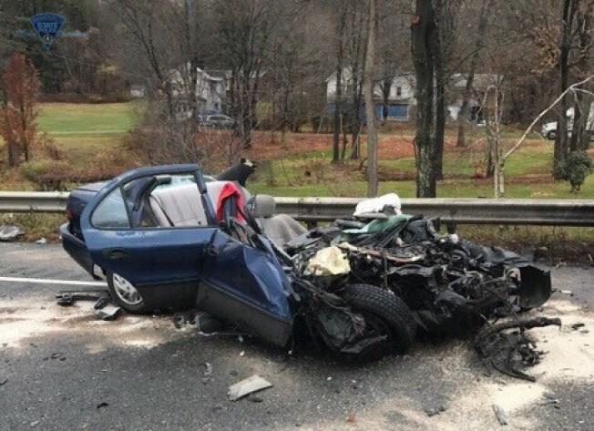 Driver in Critical Condition After Crashing Into Tractor Trailer