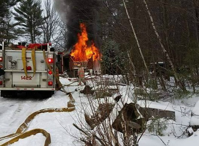 One Person Killed in Fire in Lebanon, Maine