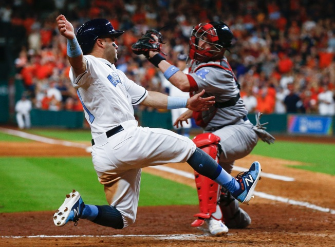 Start times revealed for first two games of Red Sox-Astros ALDS