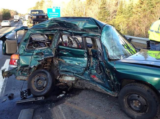 1 Dead as Icy Roads Cause Crashes Across New Hampshire