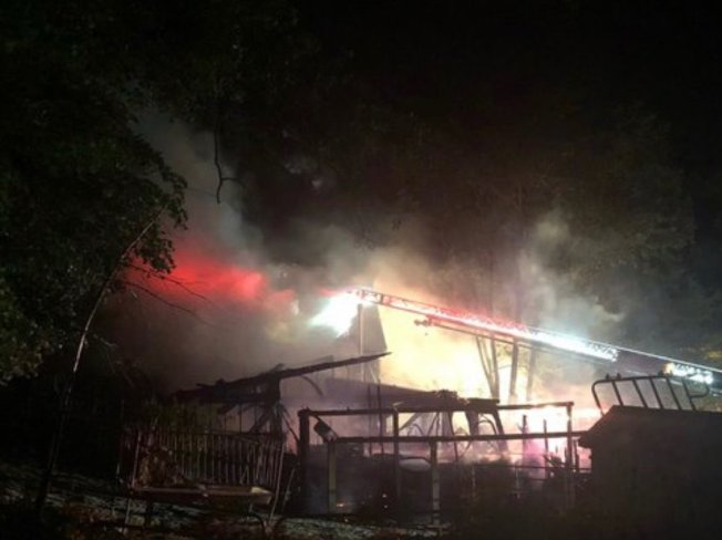 Fire Destroys Home, Barn in Stoneham; 1 Horse Killed