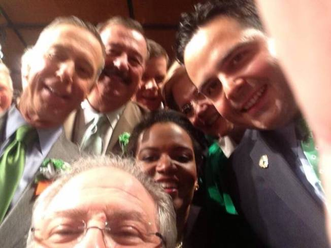 Mass. Speaker DeLeo Shows Off His Southie Selfies