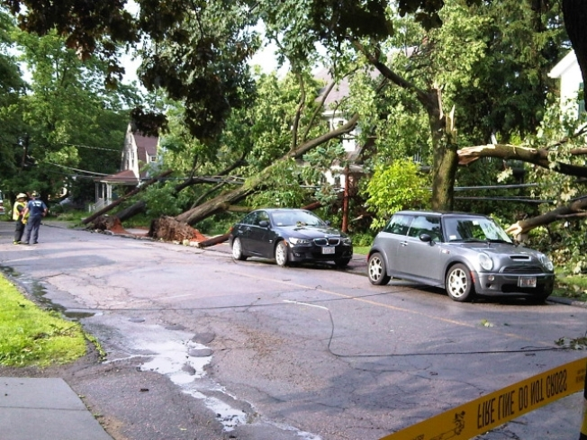 Pictures of Storm Damage From Across New England