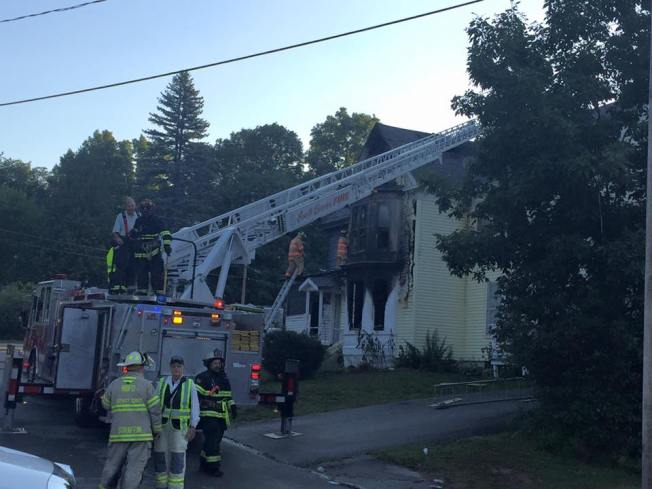 5-Alarm Fire Rips Through Apartment Building