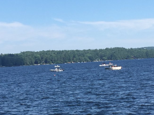 Divers Search for Man After Boat Crash on Maine Lake