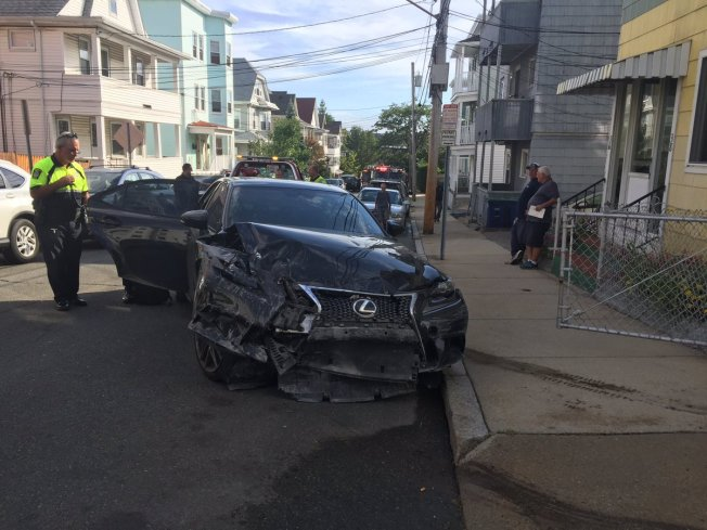 Car Crashes Into House in Somerville, Massachusetts; Driver Hospitalized