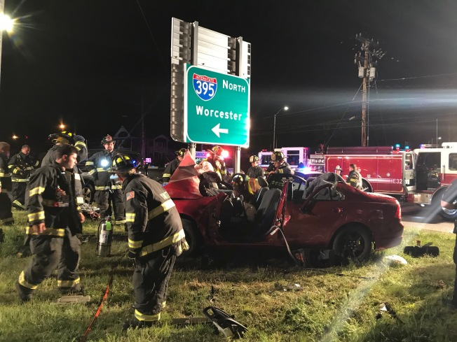Three Injured in Crash Following Pursuit