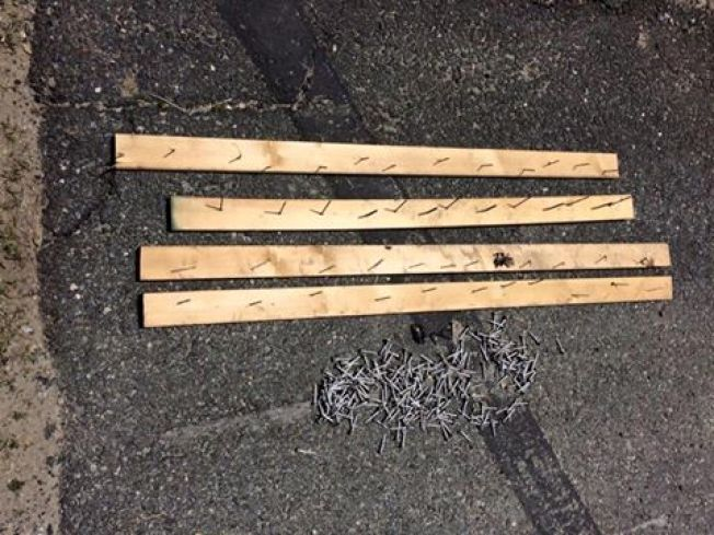 Boards With Nails Found on ATV Trail in Warren, NH