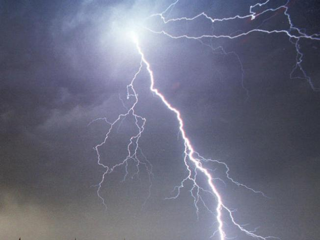 Lightning Strikes Sandwich Homes