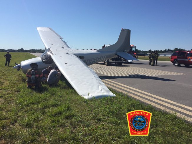 Small Plane Crash Due to Faulty Landing Gear