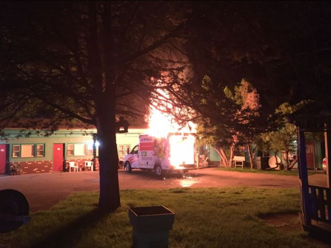 Firefighters Investigating U-Haul Truck Blaze in Vermont