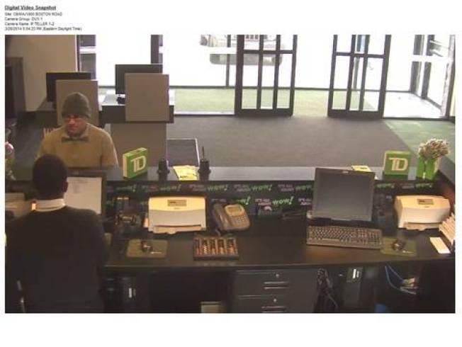 Authorities Searching for Suspect Who Robbed Springfield, Mass. Bank