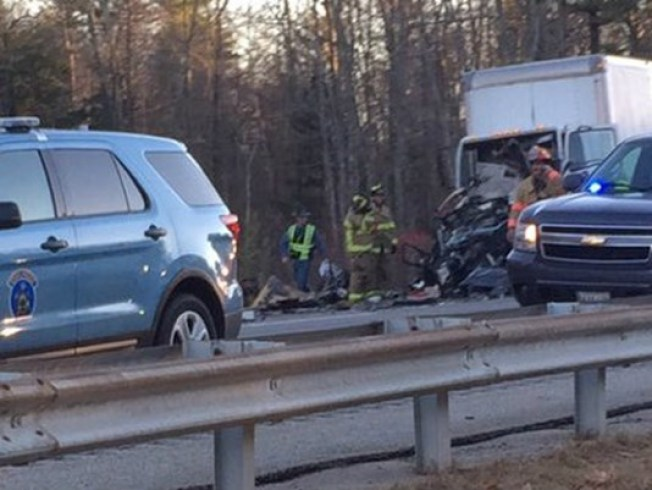 Man, 5-Year-Old Killed in Crash on I-95 in Wells, Maine - NECN