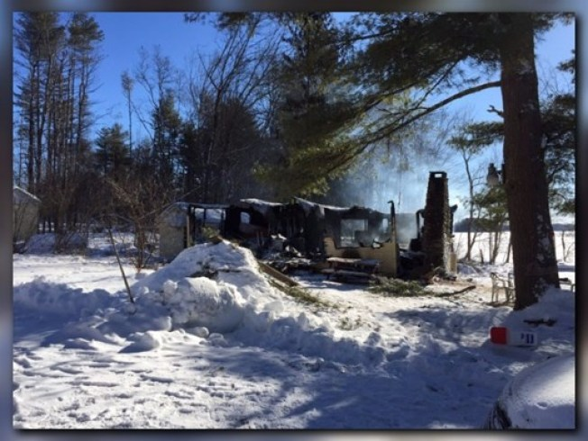 Man Dies, Home Destroyed in Maine Fire