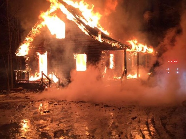 Maine State Police: Fire at Log Home Leaves 1 Dead