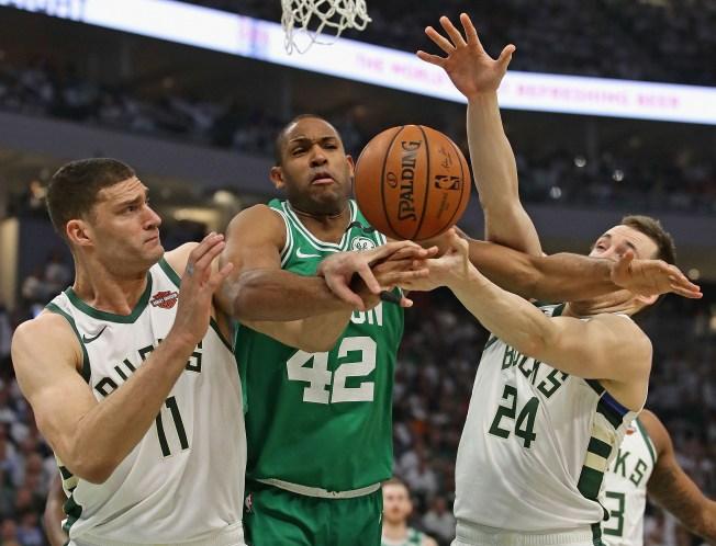 Bucks Return Favor, Blow Out Celtics to Even Series