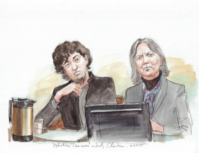 Lawyers for Boston Marathon Bomber File Notice of Appeal