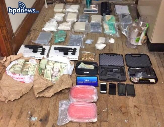 Major Drug Bust in East Boston