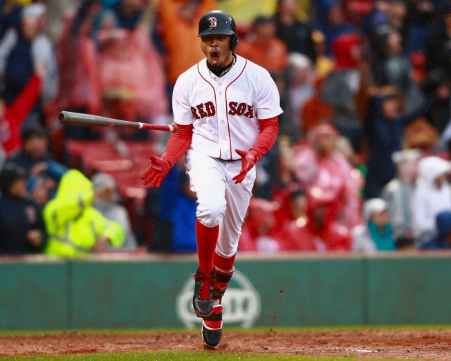 Red Sox Beat Astros, Clinch AL East Title