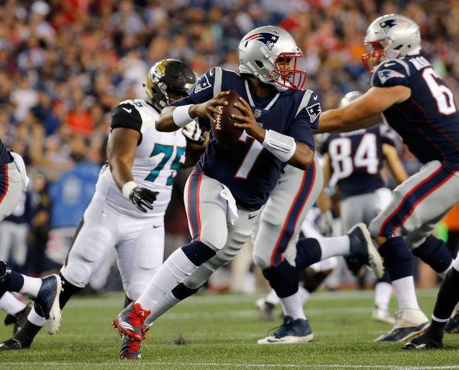 Brissett Must Show Improvement to Land a Patriots Roster Spot
