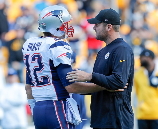 Pittsburgh Steelers' Roethlisberger Asks Rival Tom Brady for His Jersey