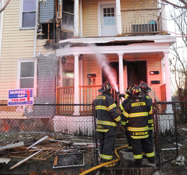 Residents Displaced Following House Fire in Brockton