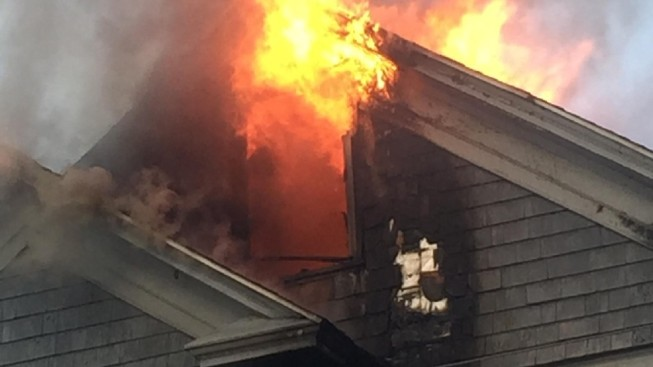 4 Firefighters Hospitalized in 3-Alarm Fire in Providence, R.I.
