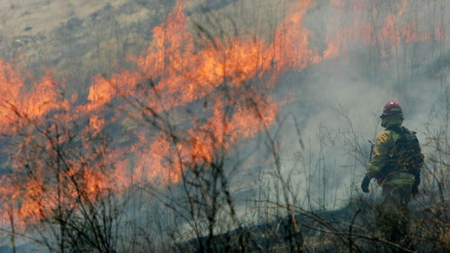 As Drought Worsens, Wildfire Season Continues