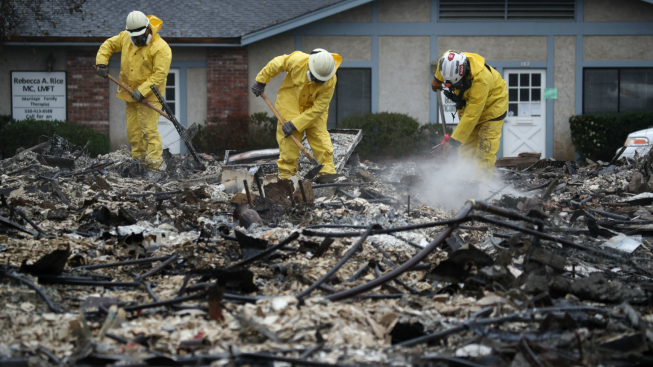 calif fire cleanup worker fired over photos from burn zone necn