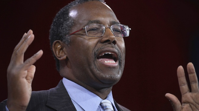 Possible 2016 GOP Presidential Candidate Ben Carson Visits New Hampshire
