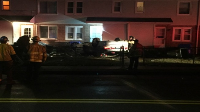 Car Crashes Into Conn. Apartment Building
