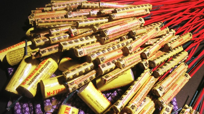 Cops: Man Sold Fireworks Illegally at Flea Market