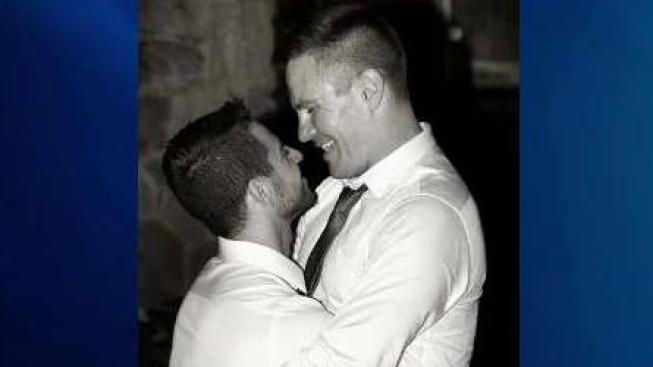 Gay couple sues, says hateful pamphlets delivered instead of wedding programs