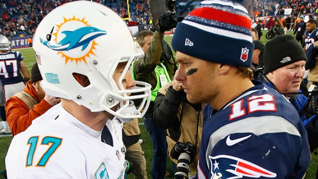 Fish Squished: Brady, Patriots Puts Dolphins in Their Place