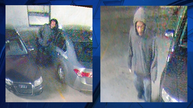 Police Seek Suspect in October Car Break-Ins
