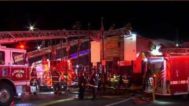 Chelsea M Fast Food Restaurant Destroyed By 2 Alarm Fire
