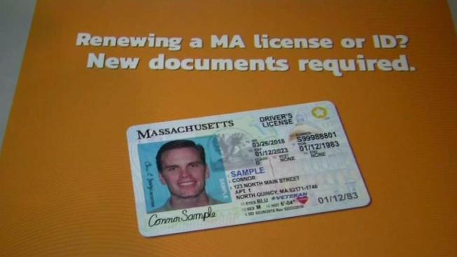 massachusetts registry of motor vehicles begins offering real id - necn