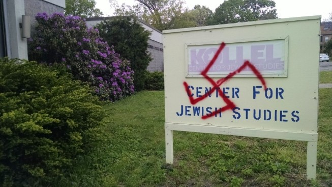 Swastika Found on Sign Outside Jewish Synagogue in Pawtucket, Rhode Island
