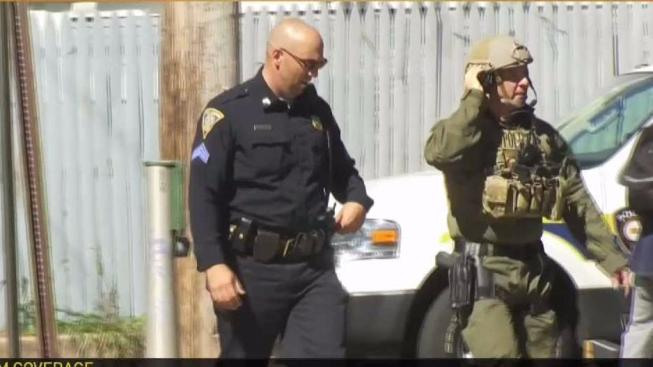2 Police Officers Shot; SWAT Team Called In - NECN