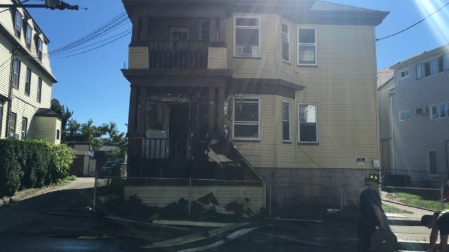 Families Displaced After Fall River Massachusetts Fire